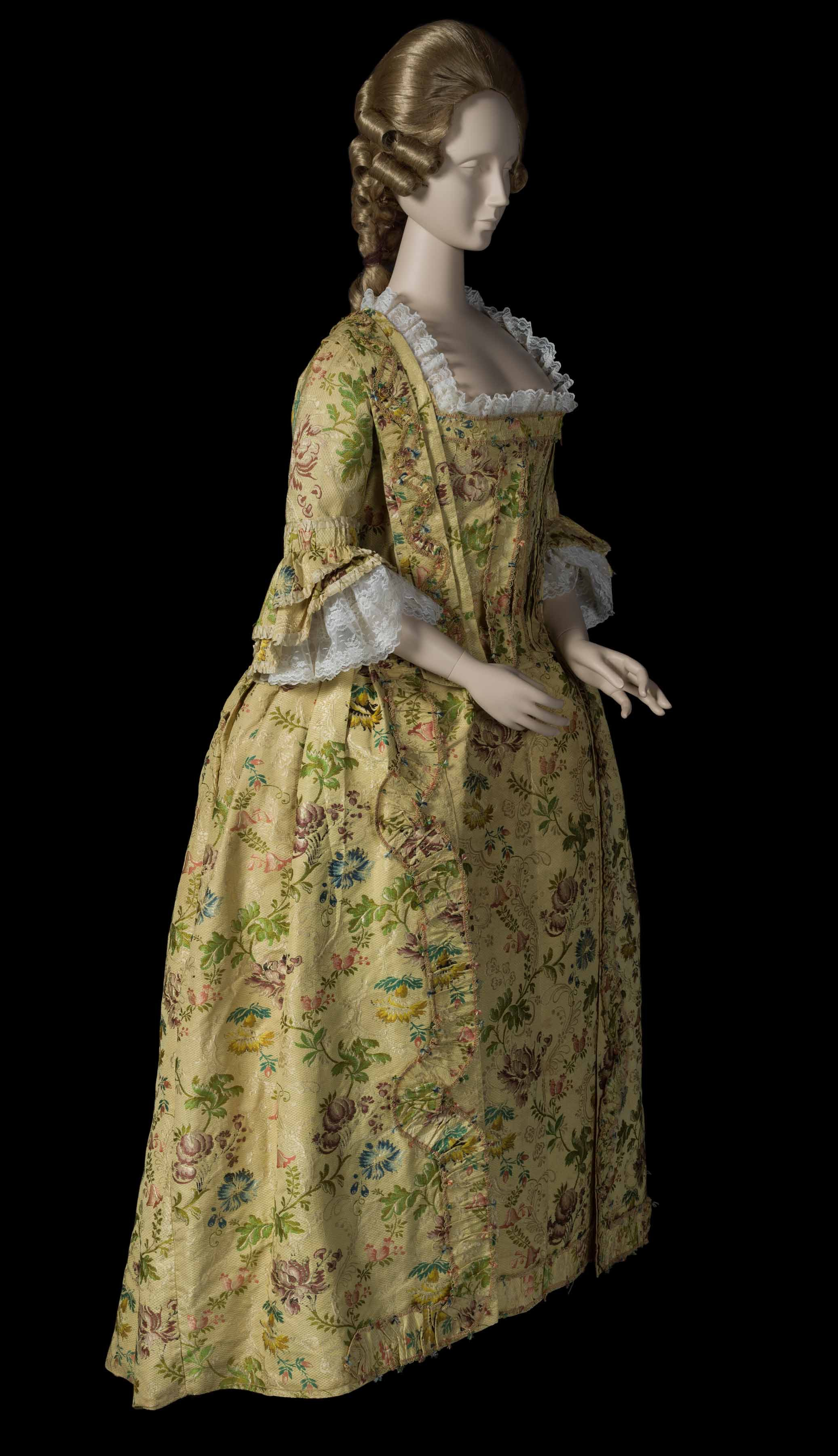 A photo of Jane Sloan LeConte gown