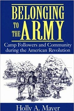 Belonging to the Army Book Cover