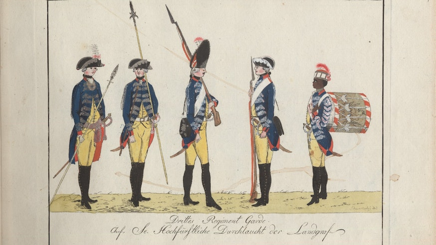 Drittes Regiment Garde Engraving