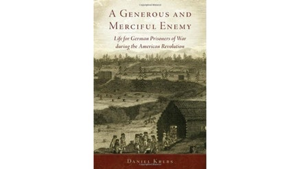 This image depicts the book cover of A Generous and Merciful Enemy by Daniel Krebs.