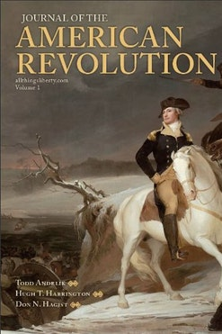 Journal of the American Revolution Book Cover
