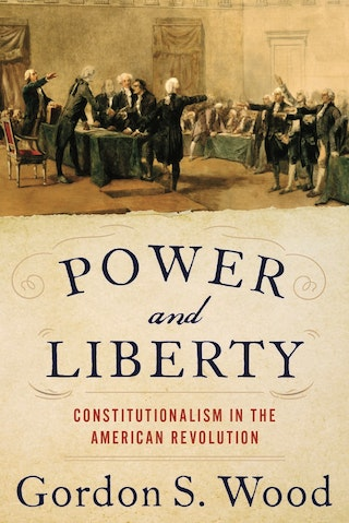 Power And Liberty by Gordon Wood Book Cover