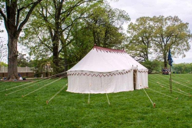 Image 101220 Foop George Washingtons Replica War Tent