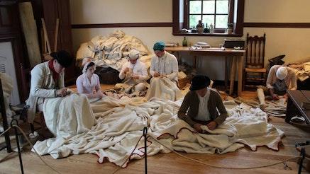 Image 101220 Foop Williamsburg Sewing Tent 0