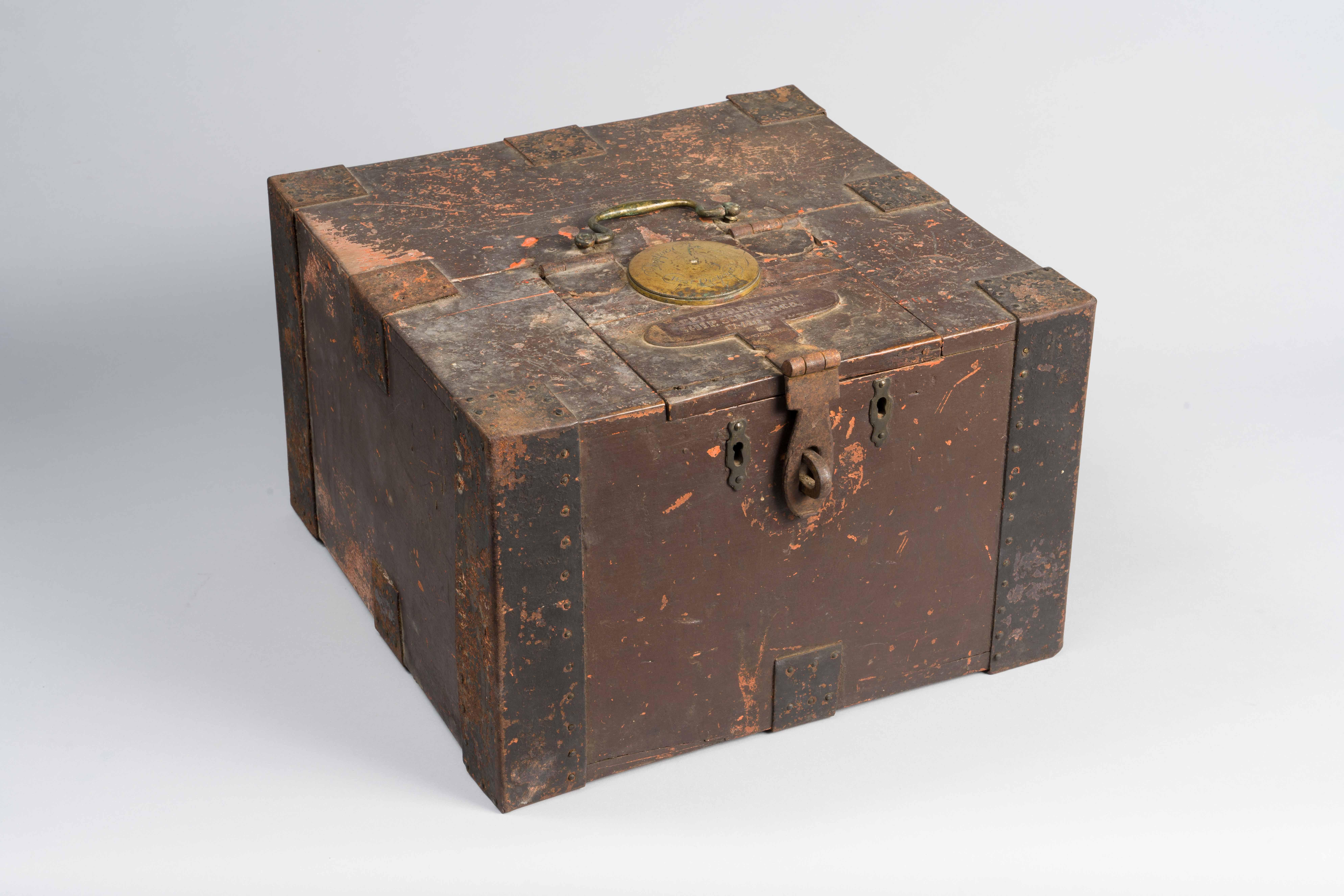 Photo of a Deptford Township, NJ ballot box.