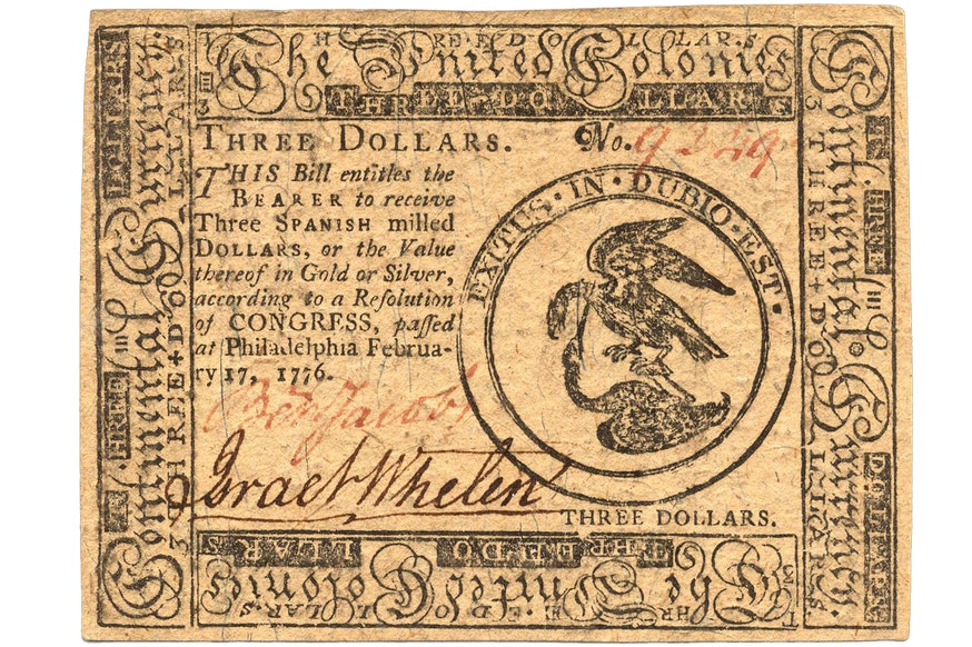 Image 092320 16x9 Continental Currency Collection 1776 Continentalcurrency