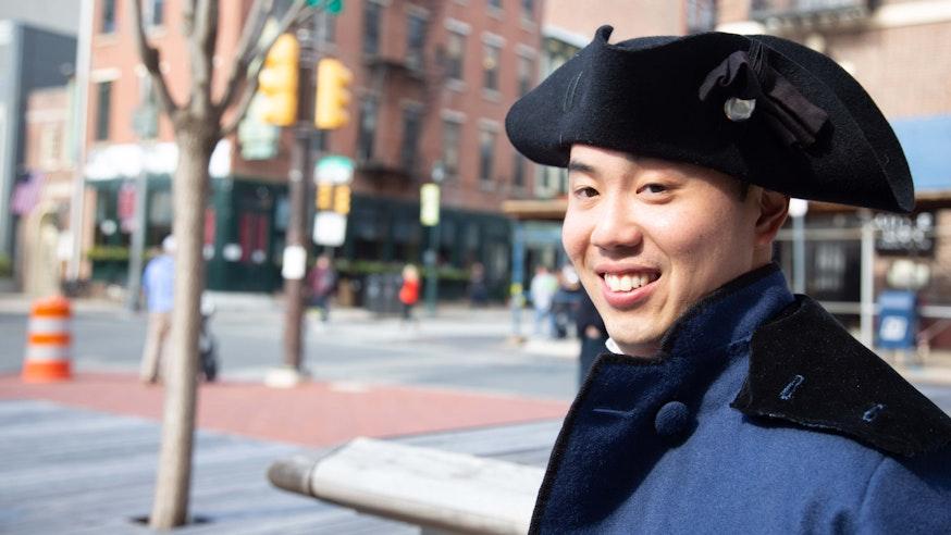 Meet The Revolution historical interpreter Daniel Sieh