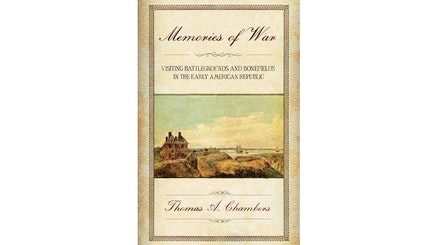 This image depicts the book cover of Memories War by Thomas Chambers.