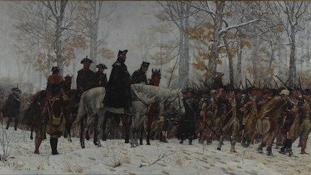 Image 092320 16x9 William Trego March Valley Forge Painting Collection
