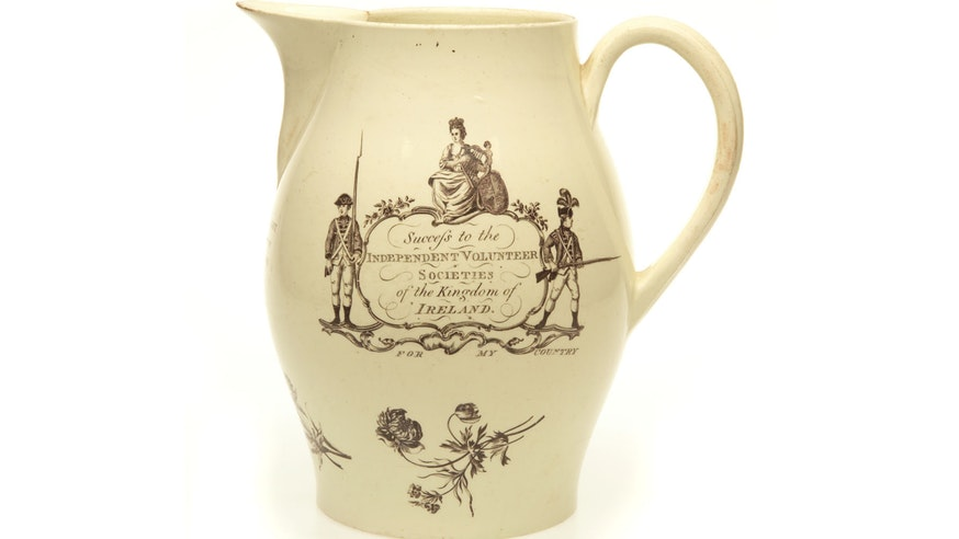 Image 091020 3x2 Irish Volunteer Jug