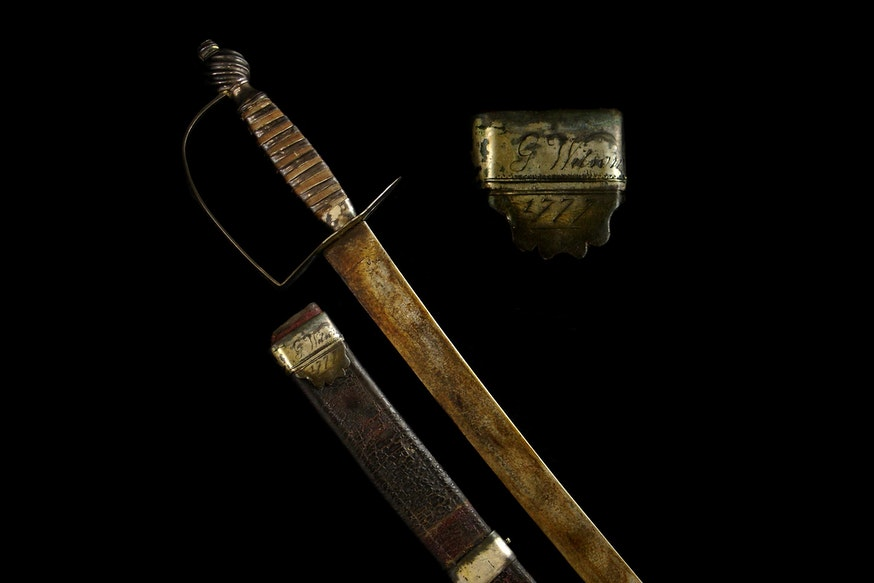Image 120120 Collections George Wilsons Sword