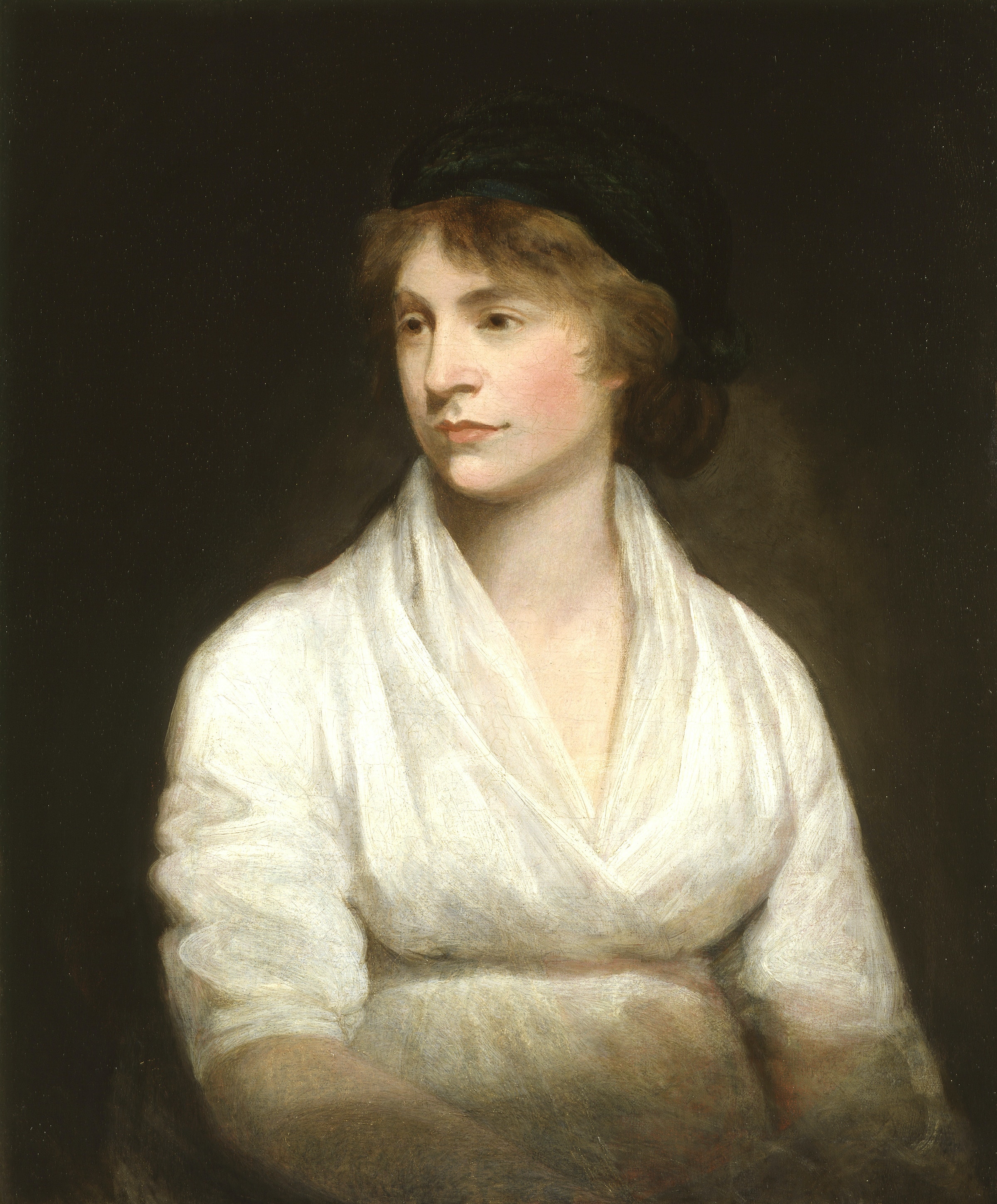 Painting of Mary Wollstonecraft by John Opie