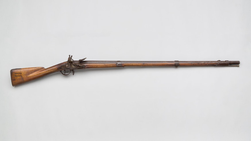 Image 120220 Collections French Musket Marked United States