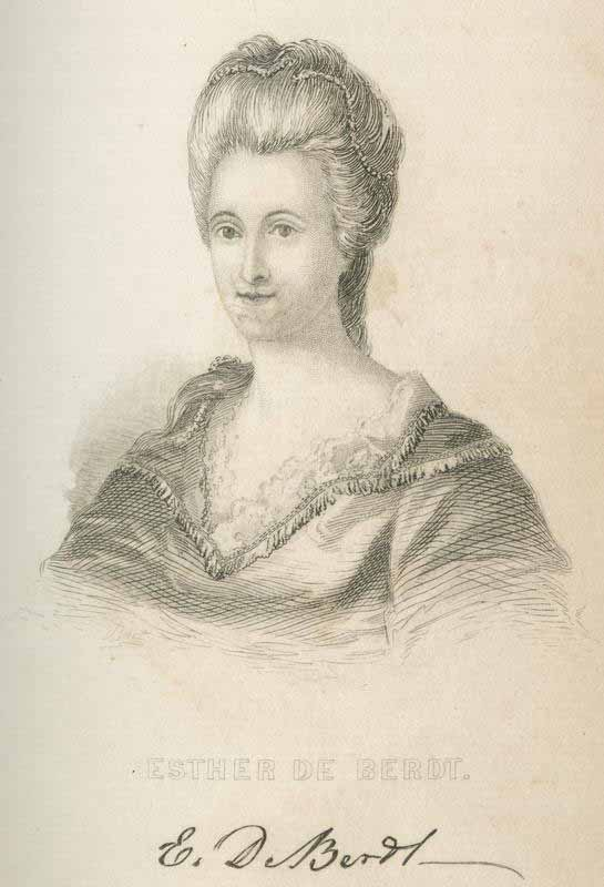 "Drawing of ""Esther de Berdt Reed."""
