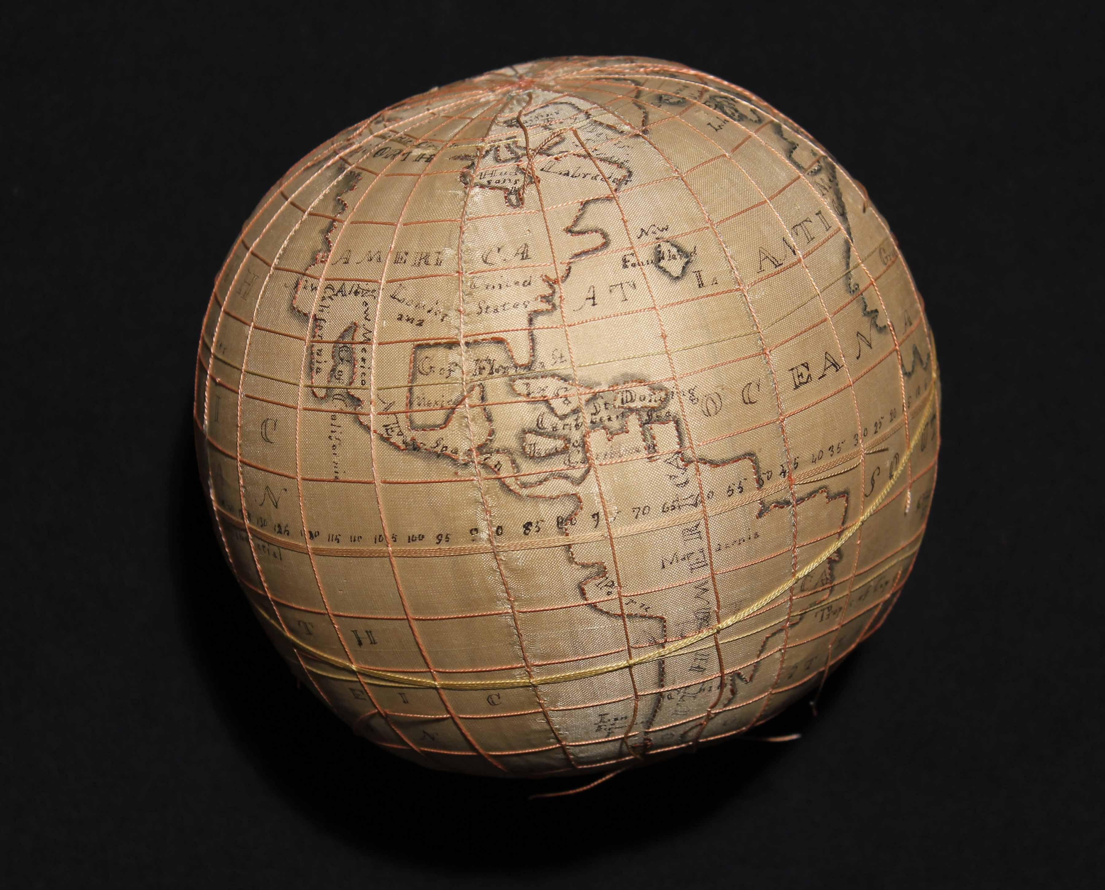Photo of a Hannah Deacon globe sampler.