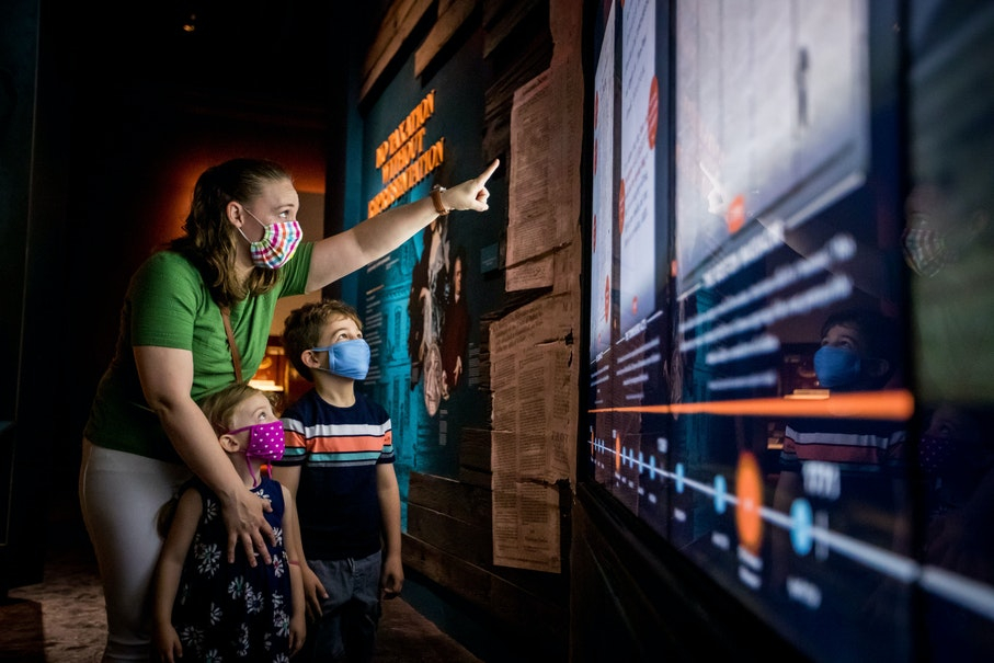 Image 082020 Covid Mask Interactive Museum Reopening Credit Moar 11