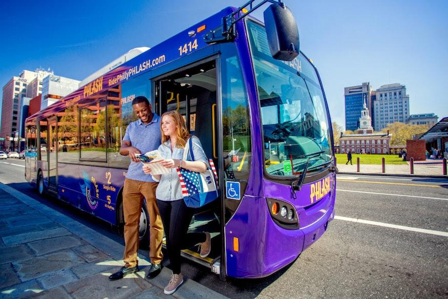 Philadelphia Phlash Bus Service