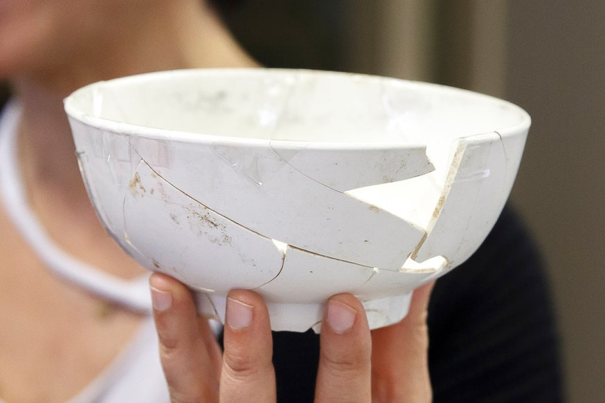 Philadelphia Porcelain Punch Bowl