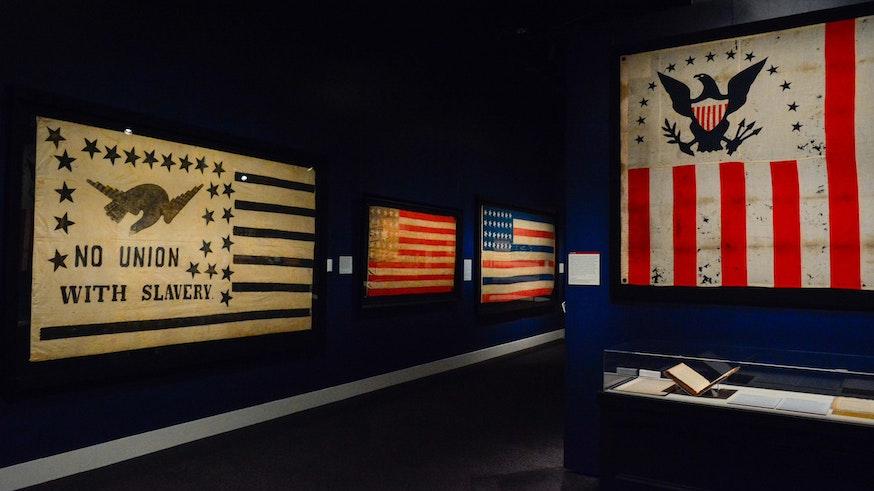 Exhibits Flags Founding Docs Preview Dsc5626