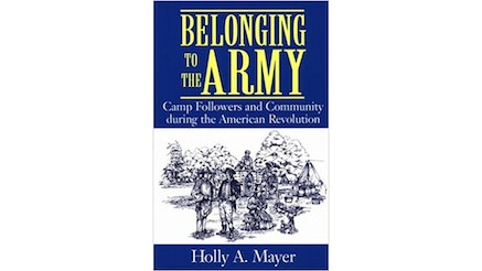 Belonging To The Army by Holly Mayer