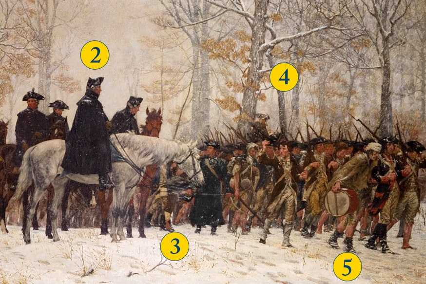 Valley Forge Numbered 0