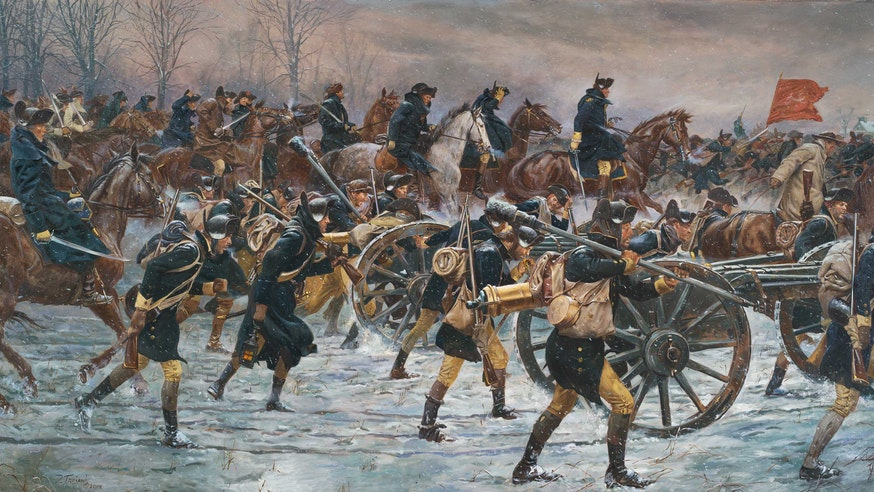 Don Troiani's Victory or Death, Advance on Trenton 1776