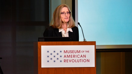 Holly Mayer discusses her book, Congress's Own, at the Museum of the American Revolution.