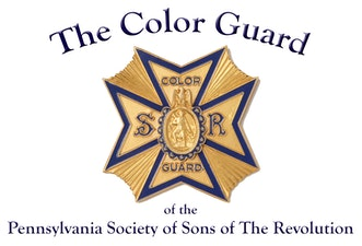 logo for the Color Guard of the Pennsylvania Society of Sons of the Revolution