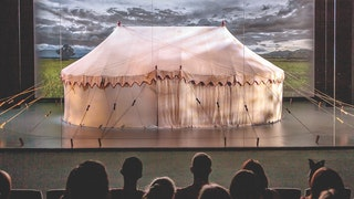 General George Washington's Revolutionary War headquarters tent on display at the Museum