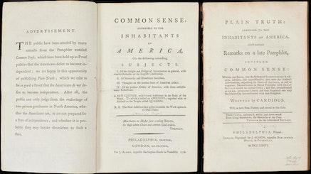 Image 091120 Common Sense Plain Truth Thomas Paine Collection Commonsenseplaintruth