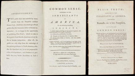 Image 091120 Common Sense Plain Truth Thomas Paine Collection Commonsenseplaintruth