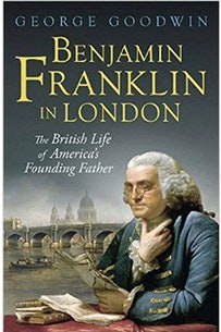 Benjamin Franklin in London book cover
