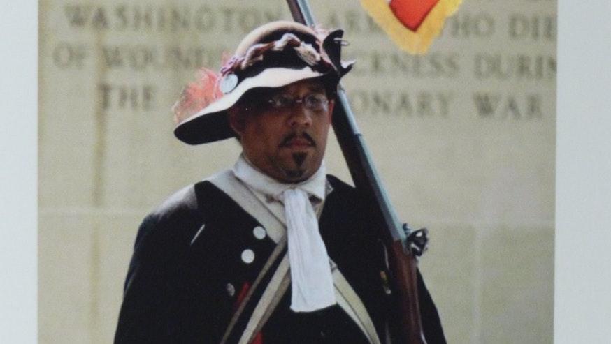 Meet The Revolution historical interpreterNoah Lewis