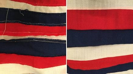 Tecumseh Flag Stiching Exampe Hammerstrom