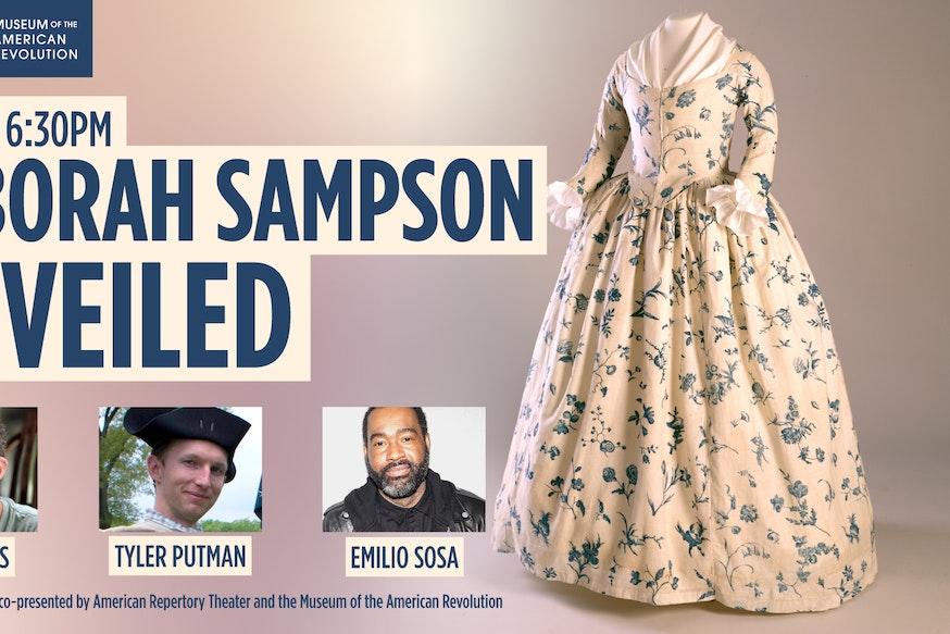 Deborah Sampson Unveiled Panel