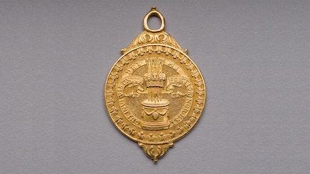 Badge of the Blew and Orange