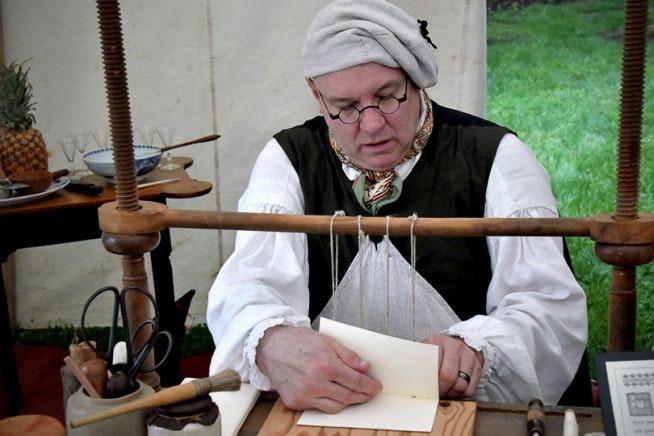 Paul McClintock, Bookbinder