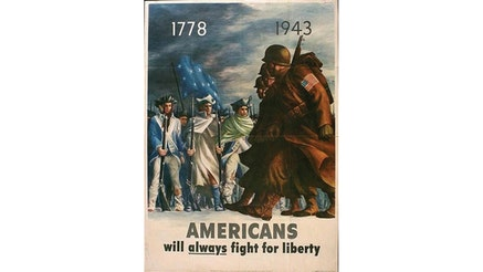 Image 120220 Collections Americans Will Always Fight For Liberty Poster