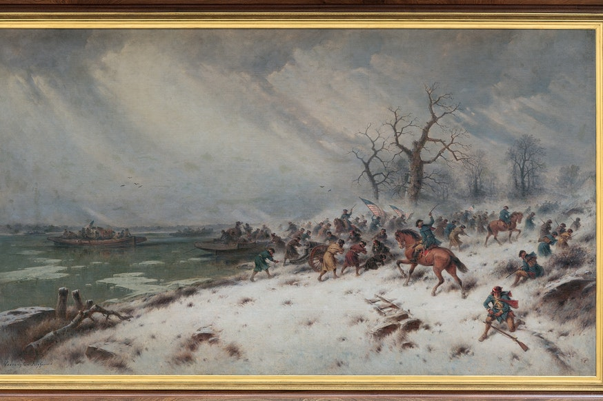 Image 120420 16x9 Collections George Washington Crossing The Delaware