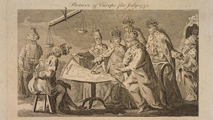 Picture of Europe for July 1772