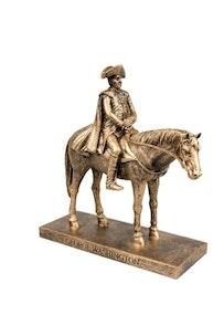 Image 111620 Shop George Washington Horse Figurine
