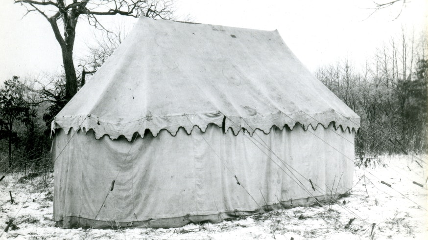 Image 101220 Washington Headquarters Tent