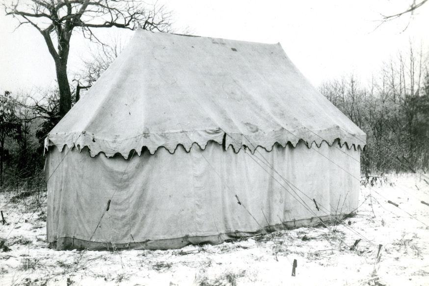 Image 101220 Washington Headquarters Tent