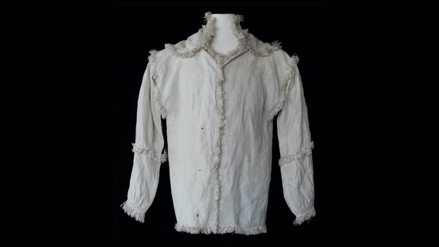 Image 091120 Fringed Linen Shirt Collection Hunting Shirt