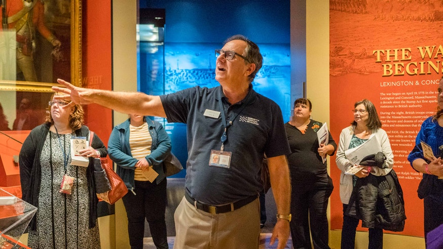 October 2018 Educator Open House in the Galleries