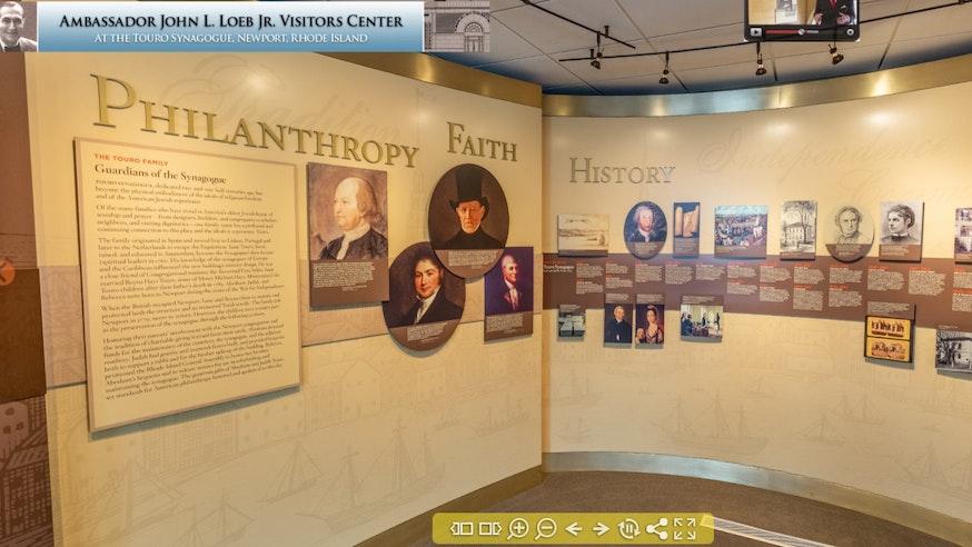 Image 113020 Ambassador John Loeb Visitor Center Virtual Exhibit