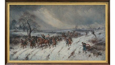 Image 120420 Collections 16x9 Painting Valley Forge Winter The Return Of The Foraging Party
