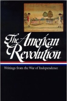 The American Revolution Writings From The War book cover