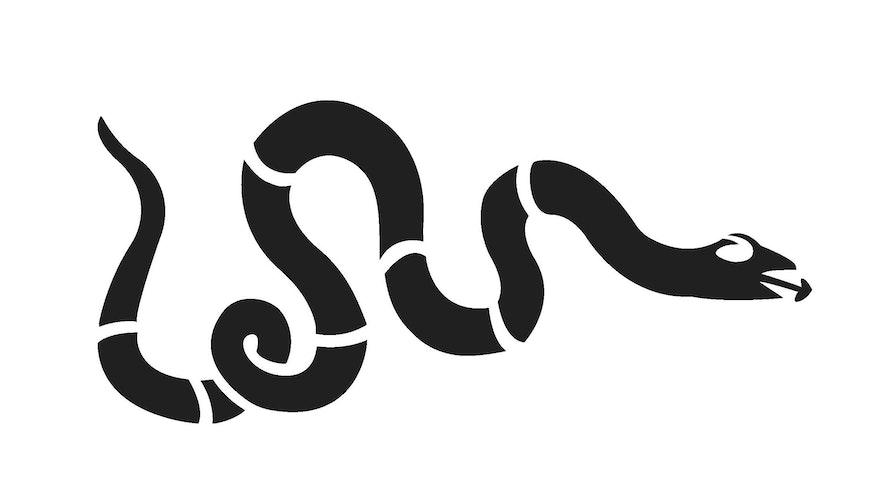 Mar Pumpkin Designs Snake