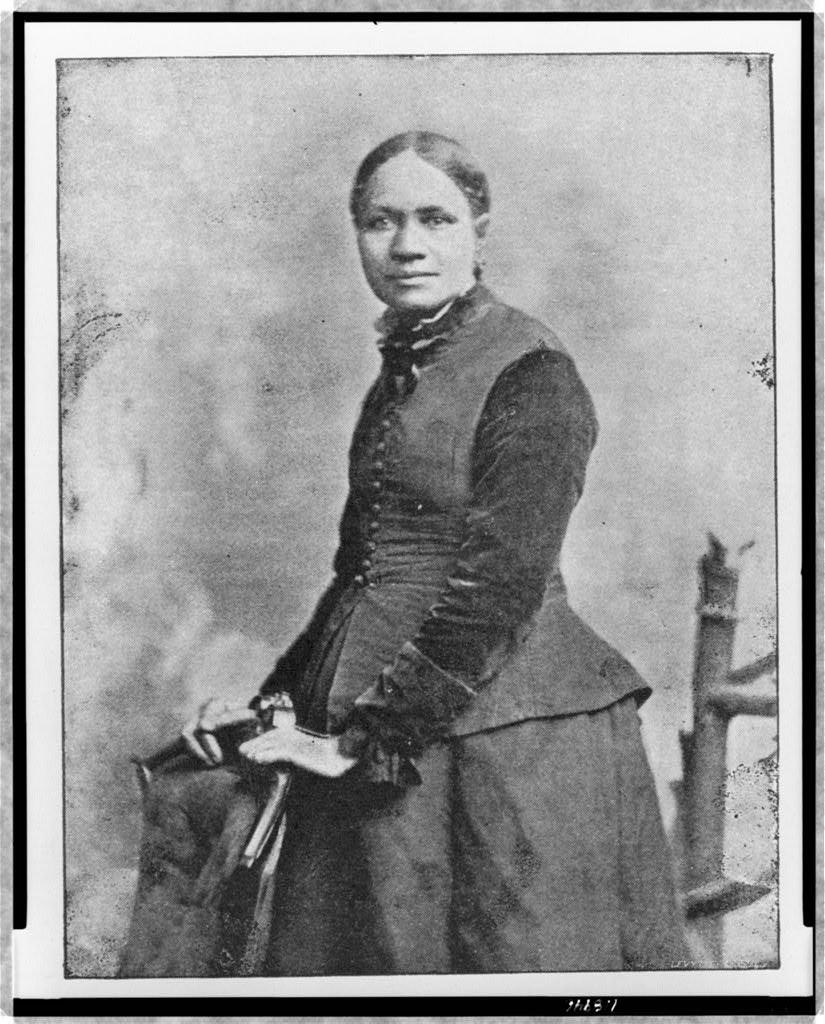 Photo of Frances E. W. Harper.